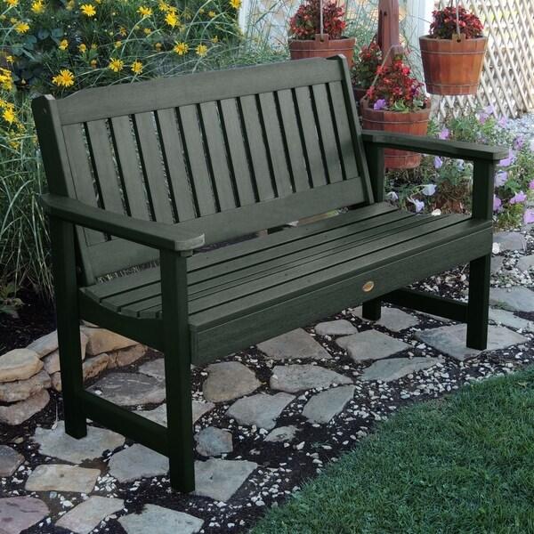 Wonderful Highwood Lehigh Eco Friendly Synthetic Wood 5 Foot Garden Bench
