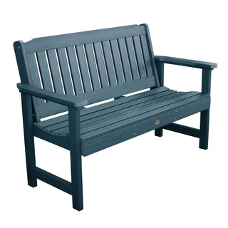 Oliver & James Jacques 5-foot Eco-friendly Synthetic Wood Garden Bench (Option: Nantucket Blue)
