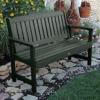 Havenside Home Mandalay 5-foot Eco-friendly Synthetic Wood Garden Bench