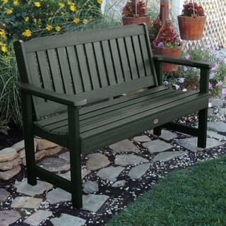Oliver & James Jacques 5-foot Eco-friendly Synthetic Wood Garden Bench (2 options available)