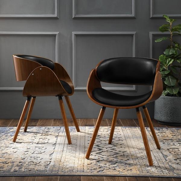 Shop Corvus Mid-century Modern Accent Chair