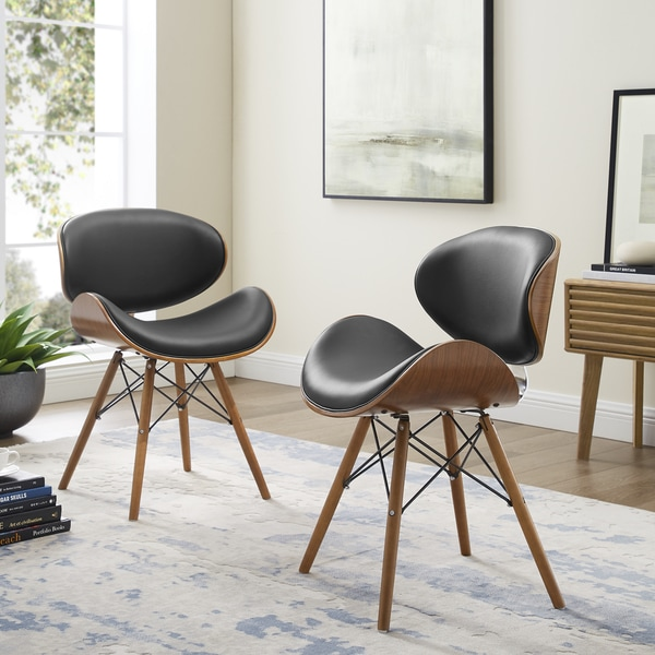 Shop Corvus Madonna Mid Century Walnut And Black Finish