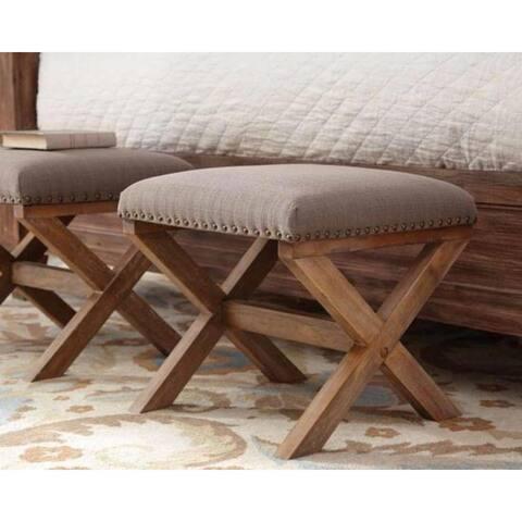 The Gray Barn Aptos Upholstered Ottoman