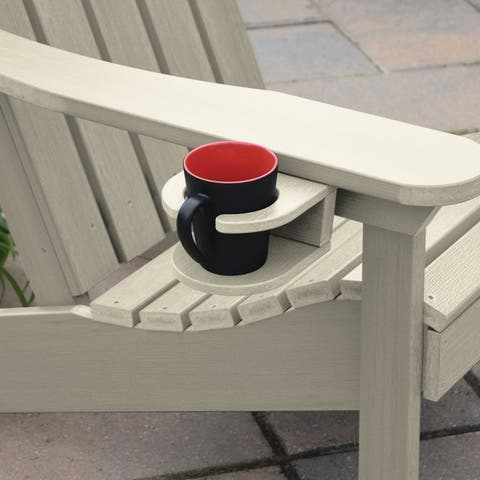 Mandalay Eco-friendly Synthetic Wood Easy-add Cup Holder by Havenside Home