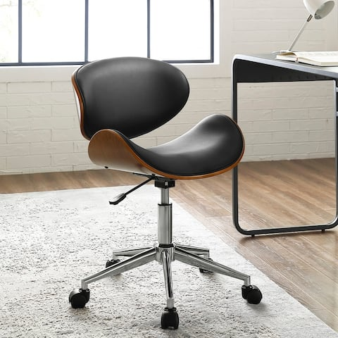 Madonna Mid Century Adjule Office Chair By Corvus