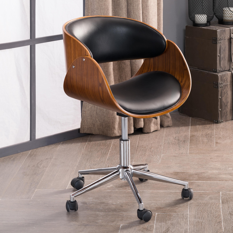 Terrific Corvus Mid Century Adjustable Office Chair Spiritservingveterans Wood Chair Design Ideas Spiritservingveteransorg