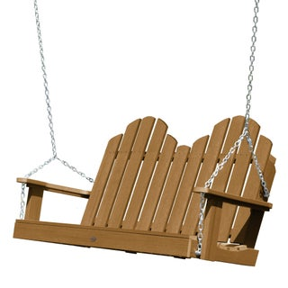 Oliver & James Amadeo 4-foot Porch Swing (Option: toffee)