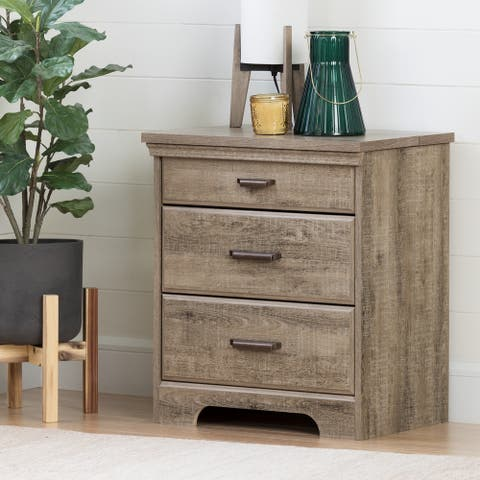 Versa 2-drawer Nightstand w/ Charging Station by South Shore