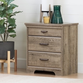 Versa Nightstand with Charging Station & Drawers by South Shore
