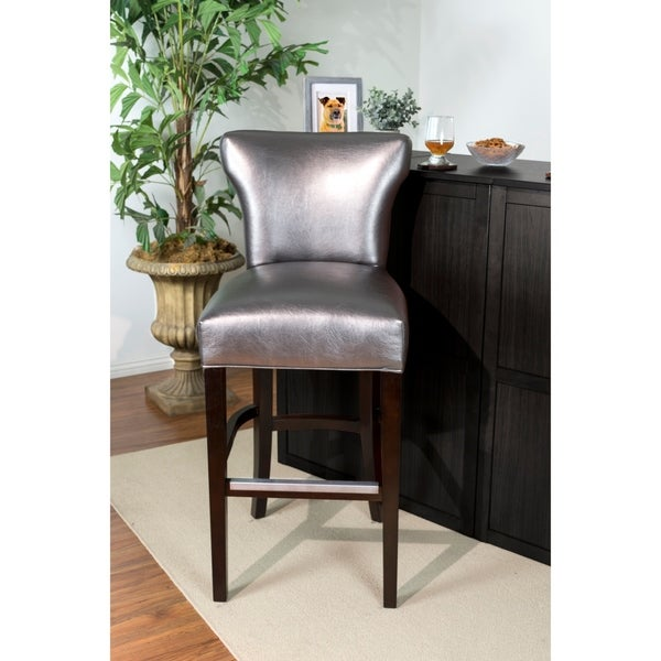 Shop Silver Orchid Tracy 30 Inch Contemporary Silver Gray