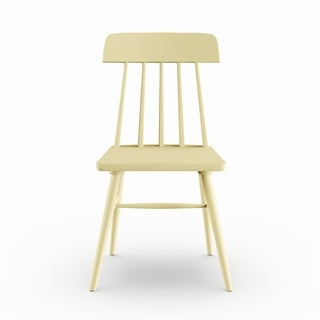 Maison Rouge Blaise Yellow Wood Armless Dining Chairs (Set of 2)