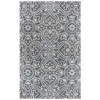 "Rizzy Home Opulent Hand-Tufted 2'6"" x 8' Runner Rug, Gray"