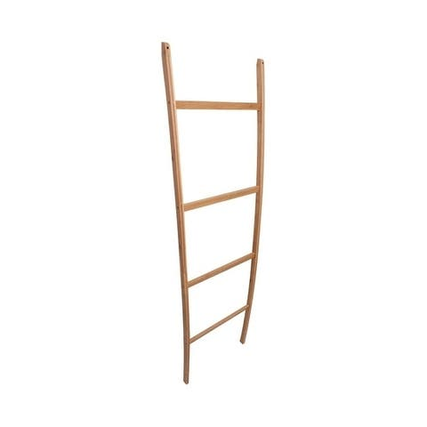 Offex Bamboo Towel ladder - Natural Finish