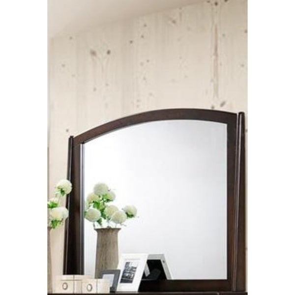 Contemporary Appeal Mirror, Varnish Oak - N/A