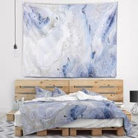 Designart 'Agate Stone Background' Abstract Wall Tapestry
