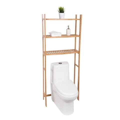 Offex Bamboo Space Saver - Bamboo Wood
