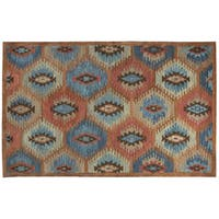 """Rizzy Home Leone Hand-Tufted 2'6"""" x 8' Runner Rug, Paprika"""