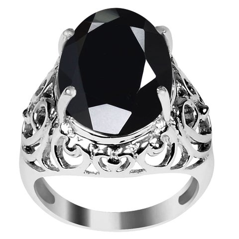 Beautiful Design 925 Sterling Silver Oval Cut Gemstone Ring