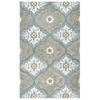 "Rizzy Home Leone Hand-Tufted 2'6"" x 8' Runner Rug, Blue"
