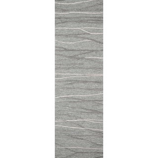 """Rizzy Home Idyllic Hand-Tufted 2'6"""" x 8' Runner Rug, Natural"""