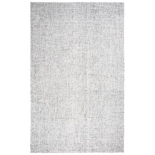 """Rizzy Home Brindleton Hand-Tufted 2'6"""" x 10' Runner Rug, Gray"""
