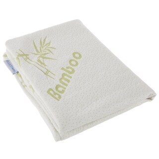 Pillow Case- Rayon from Bamboo Fiber Hypoallergenic, Temperature Regulating, Antibacterial, and Mildew-Proof By Bluestone