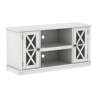 Bayport TV Stand for TVs up to 55 inches, White