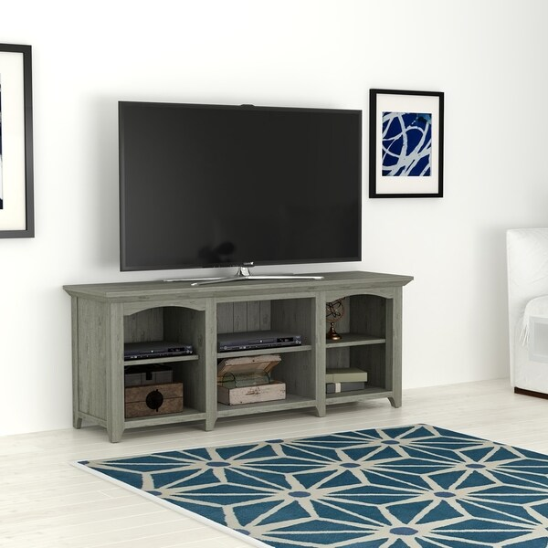 Shop Beau Ridge Tv Stand For Tvs Up To 60 Gray Oak Free Shipping