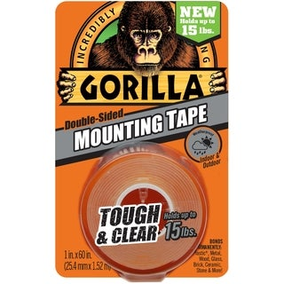 """Gorilla Double-Sided Mounting Tape 1""""X60"""""""