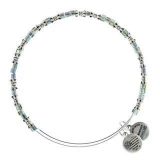 Alex and Ani Winter Solstice Beaded Bangle - Silver
