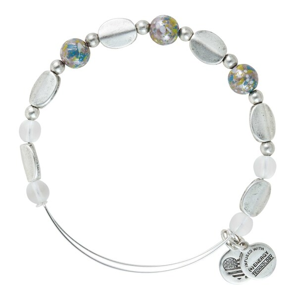 Alex and Ani Cosmo Bangle - Silver. Opens flyout.