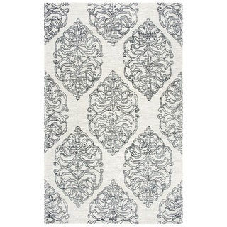 Rizzy Home Opulent Ivory Medallion 9' X 12' Rug - 9' x 12'