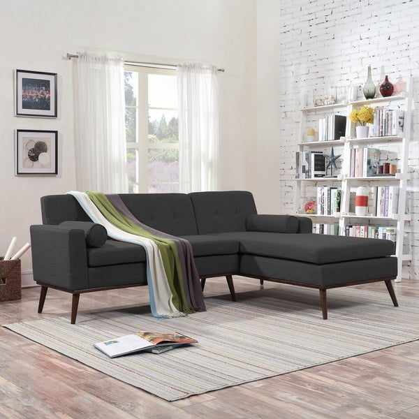 Stormi Mid Century Modern 2-Piece Mut Sectional Sofa and Lounge Set by Christopher Knight Home. Opens flyout.
