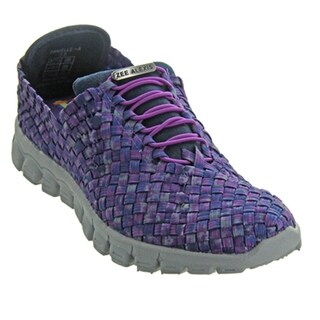 Zee Alexis Womens Danielle Athletic Shoes Navy Plum