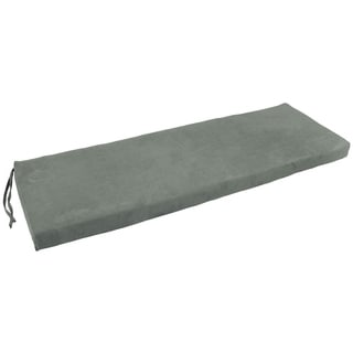 Blazing Needles 63-inch Indoor Microsuede Bench Cushion