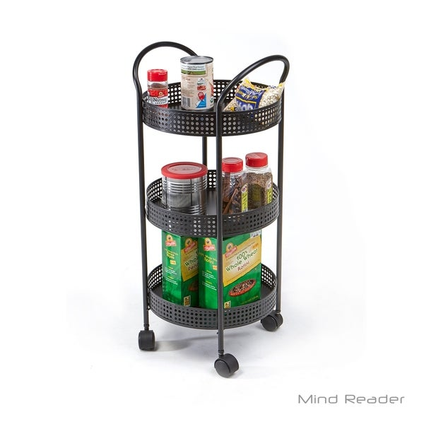 3 tier cart with wheels laundry room utility mind reader tier metal all purpose utility cart with wheels black shop wheels