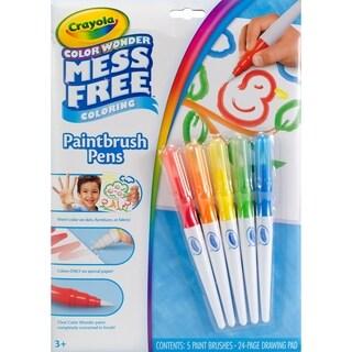 Crayola Color Wonder Mess Free Paintbrush Pens