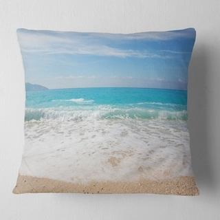 Beach Ball Pillow by Beach Room