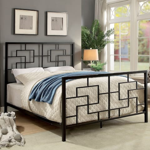 Maron Contemporary Geometric Bed by FOA