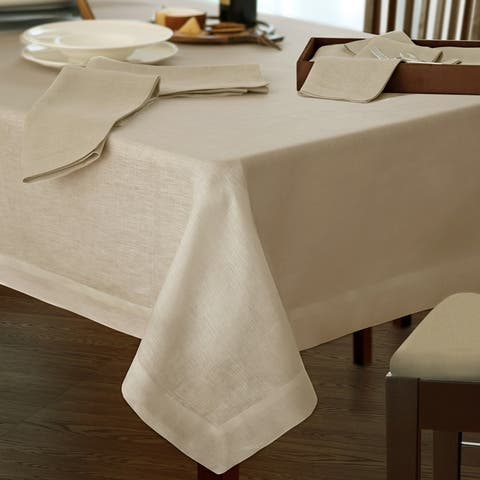 Villeroy and Boch La Classica Luxury Linen Fabric Tablecloth