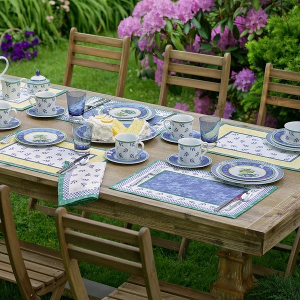 """Villeroy and Boch Switch Set of 4 Placemats - 14"""" w x 20"""" l"""