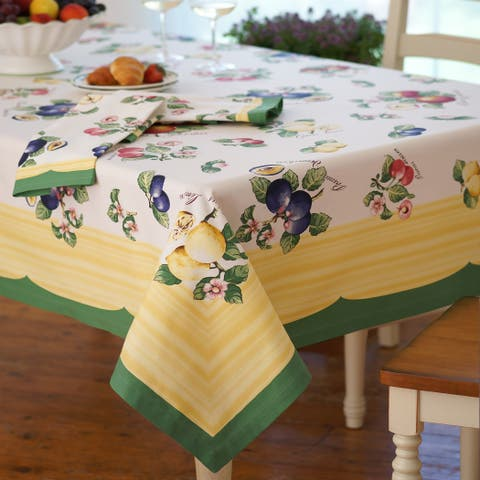 Villeroy and Boch French Garden Cotton Tablecloth