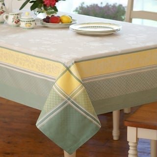 Villeroy and Boch Fleurence Jacquard Cotton Tablecloth