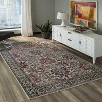 Shop Graffiti Multi Wool Area Rug 5 3 Quot X 7 9 Quot Free