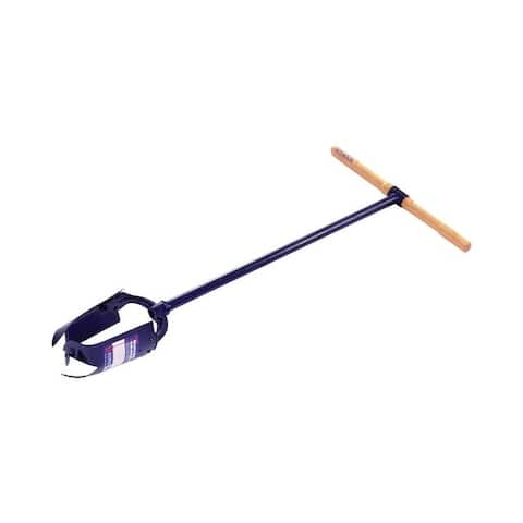 Seymour 33 in. L High Carbon Steel Post Hole Digger Wood