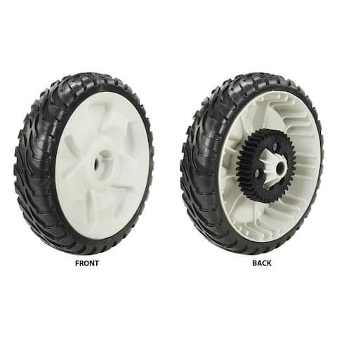 Toro Gear Assembly Replacement Wheel 8 in. Dia.