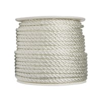 Wellington  1/2 in. Dia. x 300 ft. L Twisted  Nylon  Rope  White