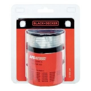 Black+Decker Replacement Line Trimmer Spool 0.065 in. Dia. x 30 ft. L 3 pk