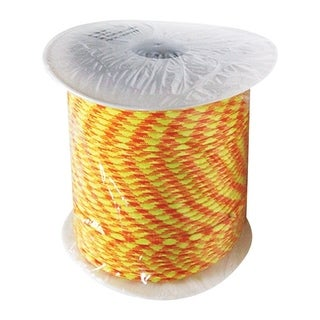 SecureLine 5/32 in. Dia. x 400 ft. L Braided Nylon Paracord Yellow/Orange