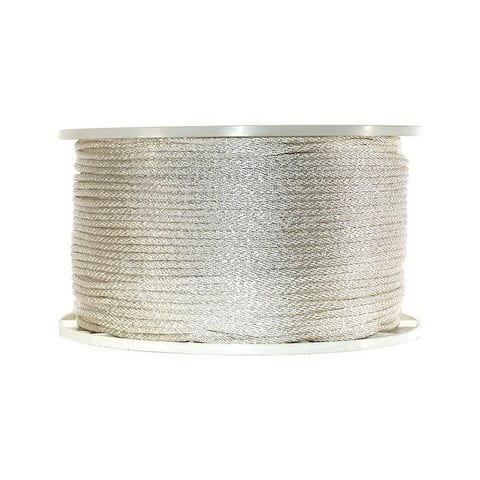 Wellington 3/16 in. Dia. x 1000 ft. L Solid Braided Nylon Rope White